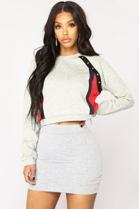Cozy But Cool Hoodie - Heather Grey