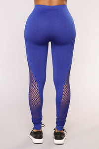 Lift It Seamless Active Leggings - Royal Angle 6