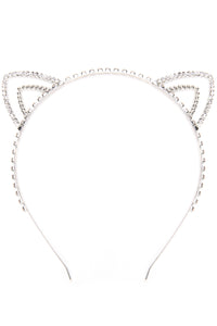 Stay Purrfect Headband - Silver