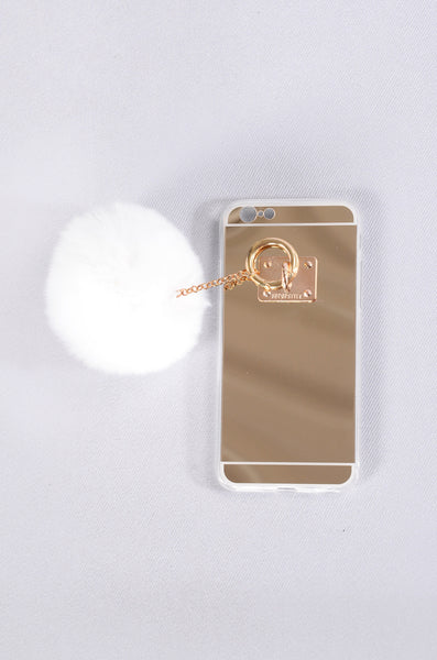 On The Ball Phone Case - White