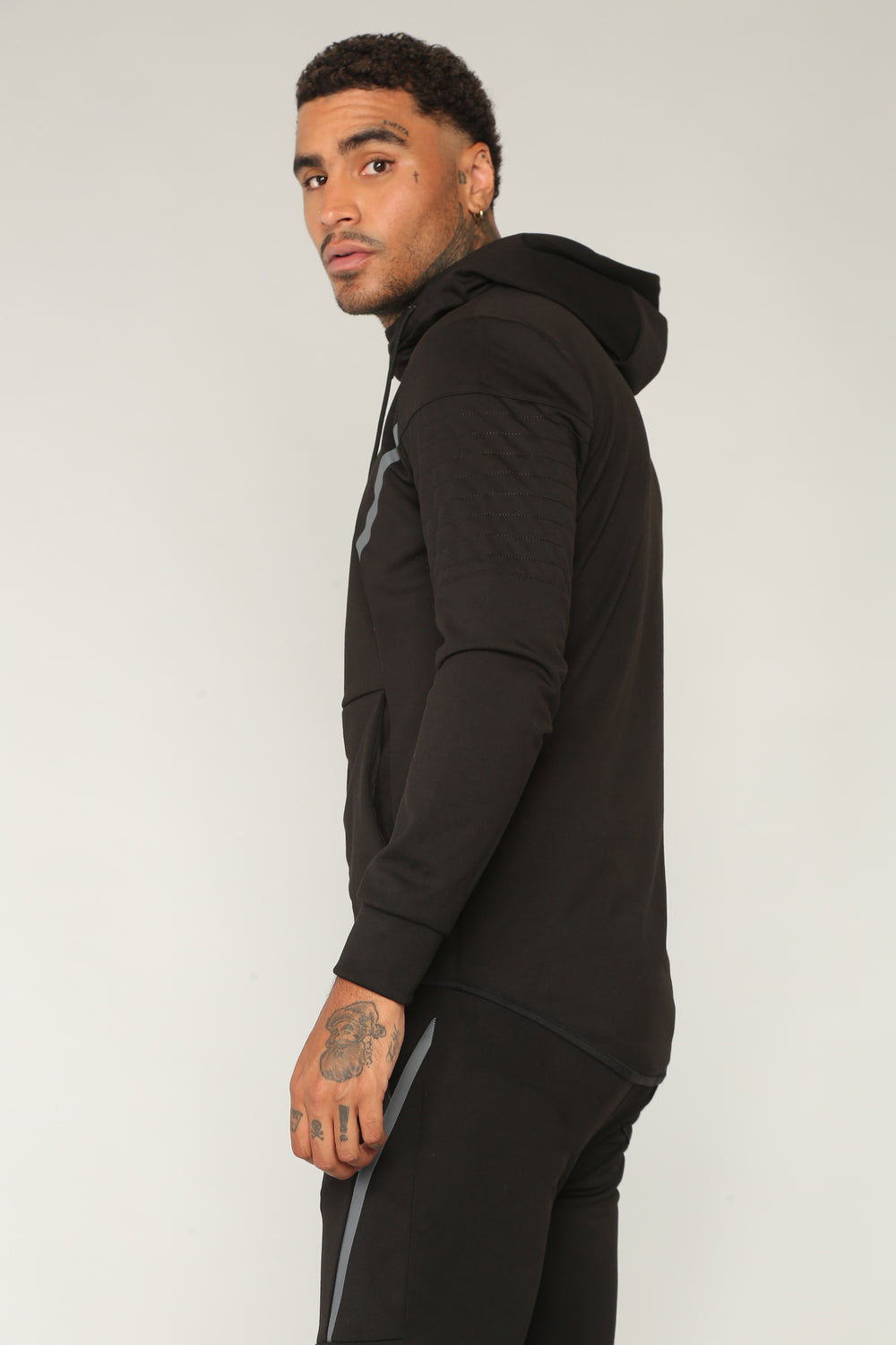 Brandon Athletic Hoodie - Black