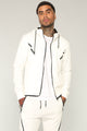 Brandon Athletic Hoodie - White