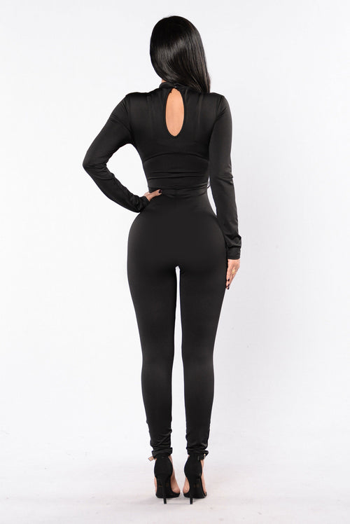 Hype Jumpsuit - Black