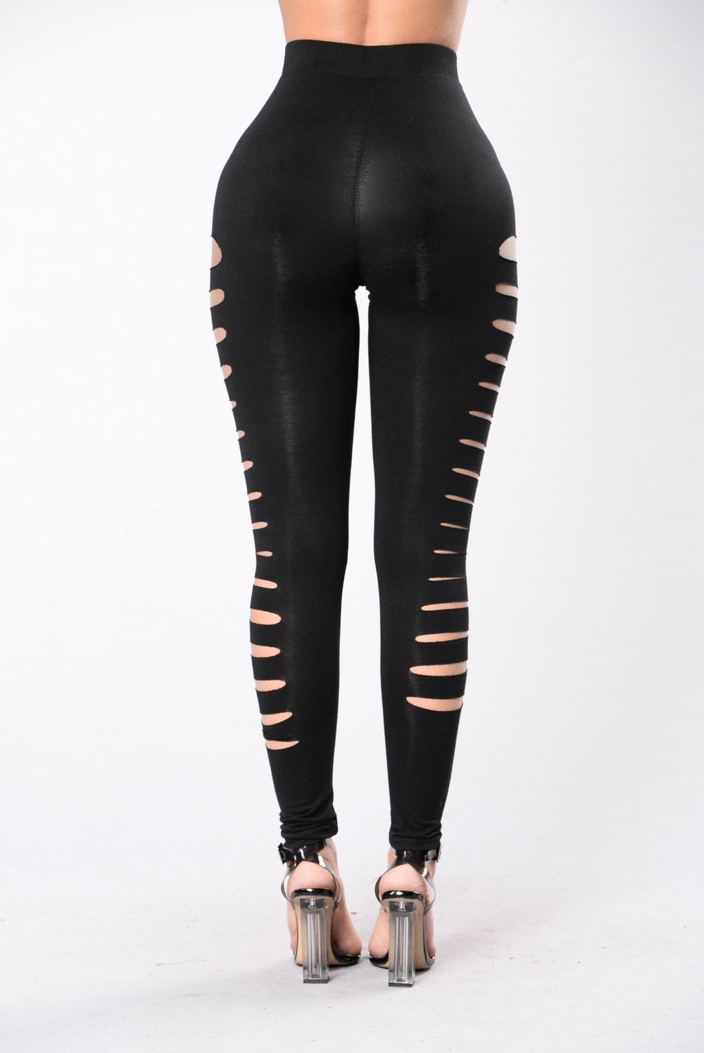 Not Much To Discuss Leggings - Black