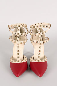 Studded Seduction - Red