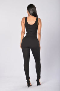 Appetite for Destruction Jumpsuit - Black Angle 2