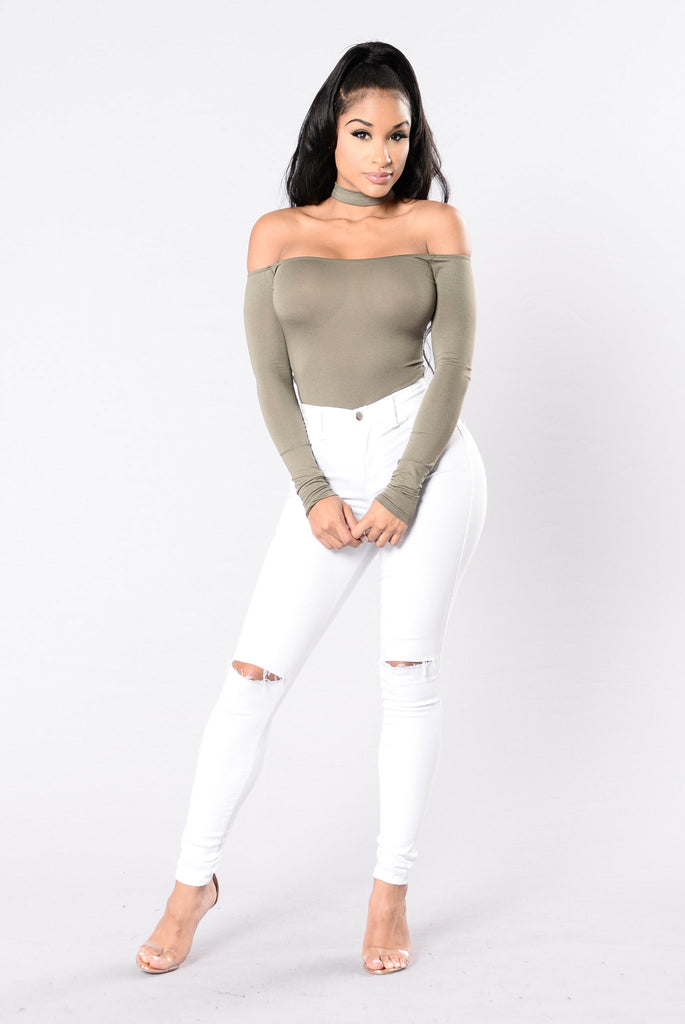 The Buzz Bodysuit - Olive