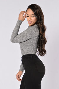 She's A Diva Bodysuit - Grey