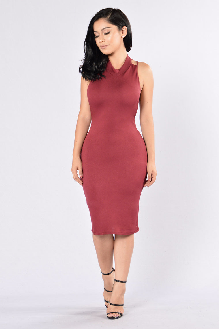 Ask Me Out Dress - Ruby