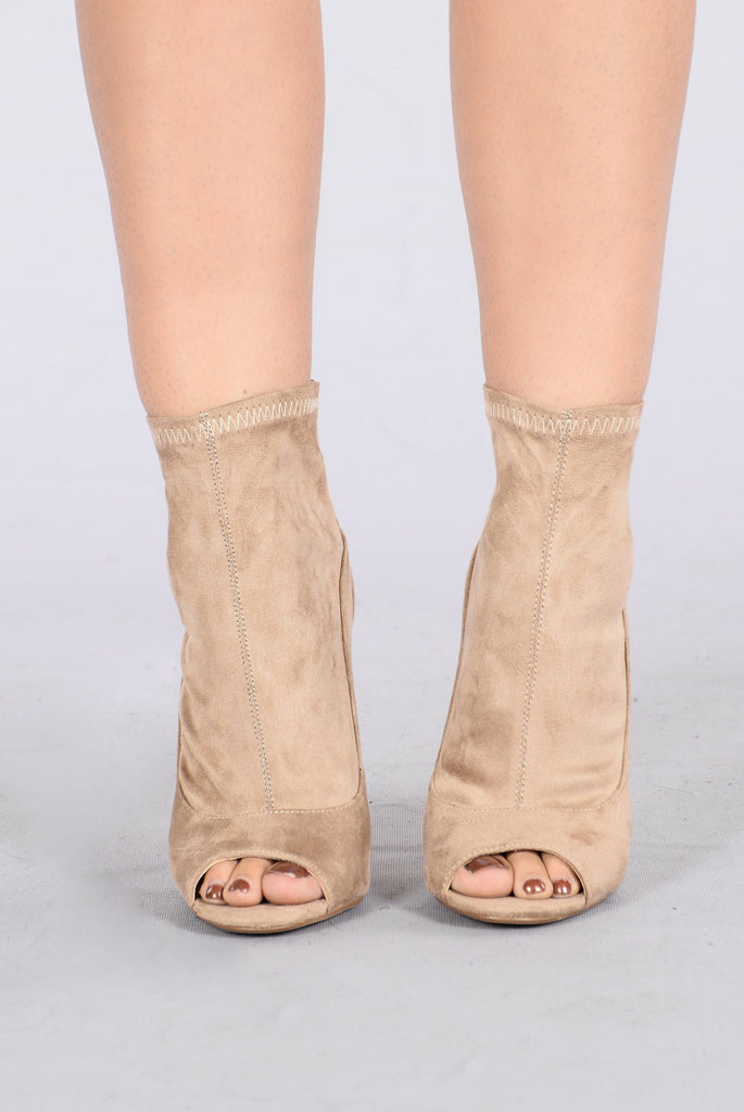 Don't Drag Me Down Boot - Khaki
