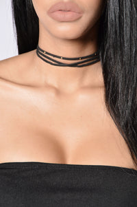 Moon Child Choker - Black