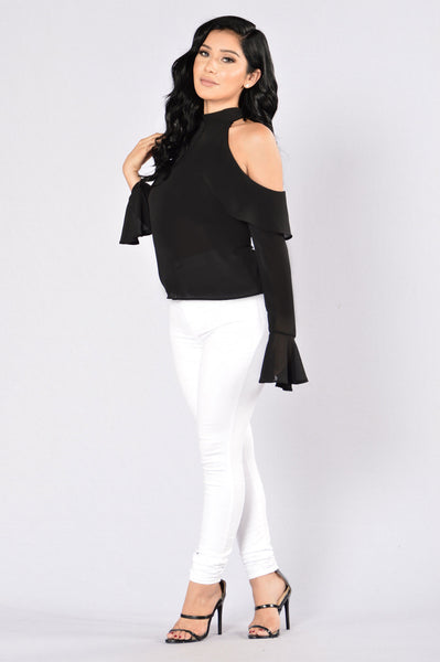 Bell Of The Night Top - Black