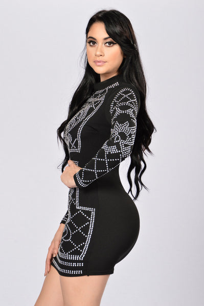 Royalty Dress - Black