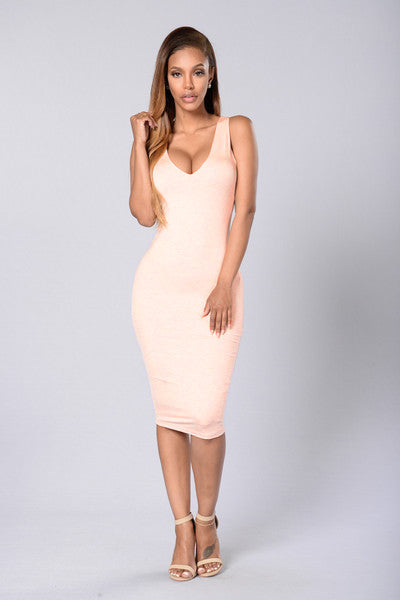 Effortless Dress - Blush