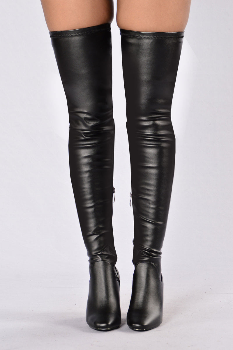 Fierce and Fiery Boot - Black
