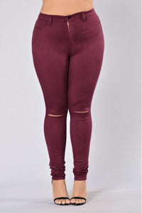 Canopy Jeans - Burgundy Angle 14
