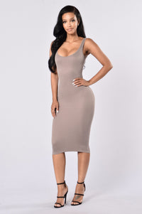 Check This Out Dress - Mocha