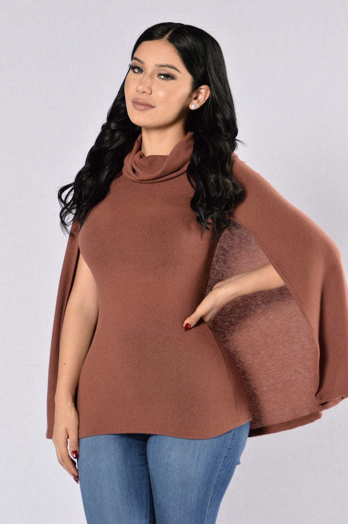 Cub Sweater -  Red Brown