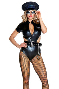 Don't Cross Me Costume - Black