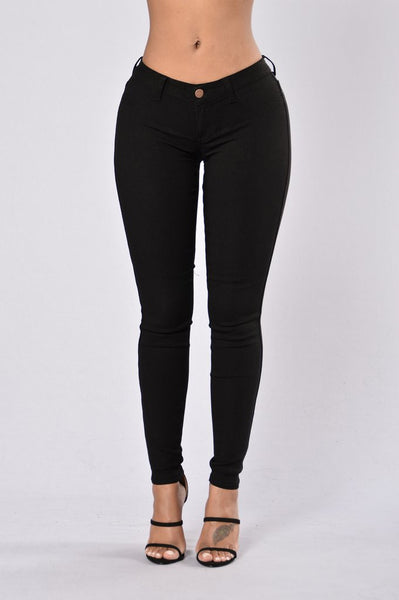 Easy Fit Jeans - Black