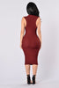 Essential Dress - Burgundy
