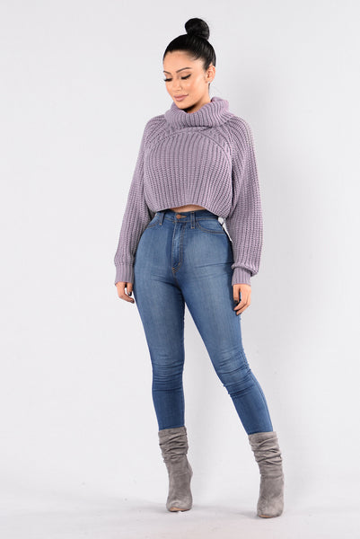 Halina Sweater - Lavender
