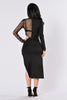 Gal On The Run Dress - Black