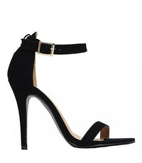 Strapped Success Heel - Black