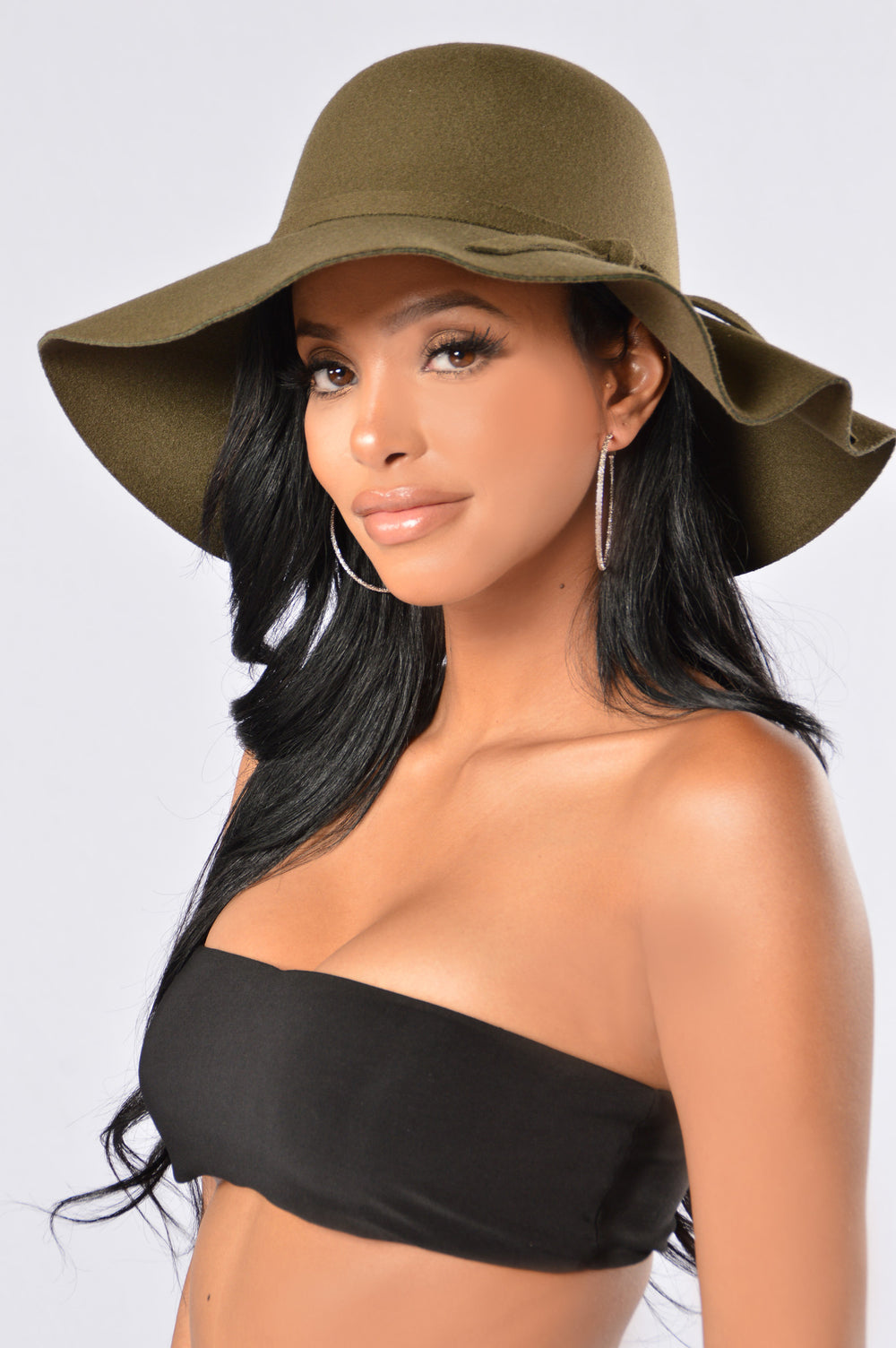 Queen of the Jungle Floppy Hat - Olive