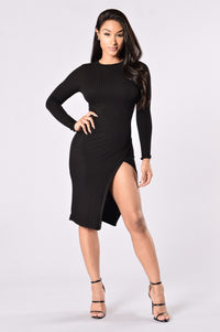 High Society Dress - Black