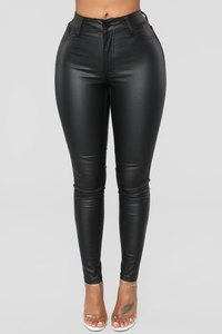 Candy Coated Skinny Jeans - Black