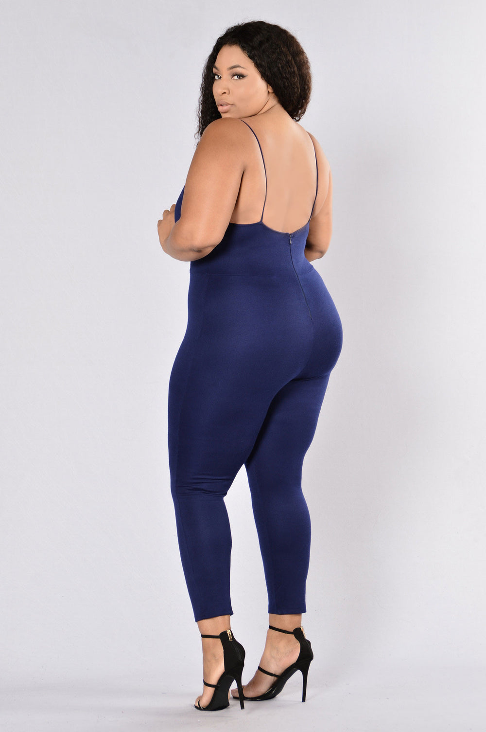 Jump To It Jumpsuit - Navy