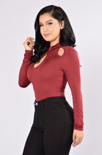 Key To Your Heart Bodysuit - Ruby Angle 3