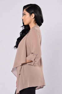 Light As A Feather Jacket - Mocha