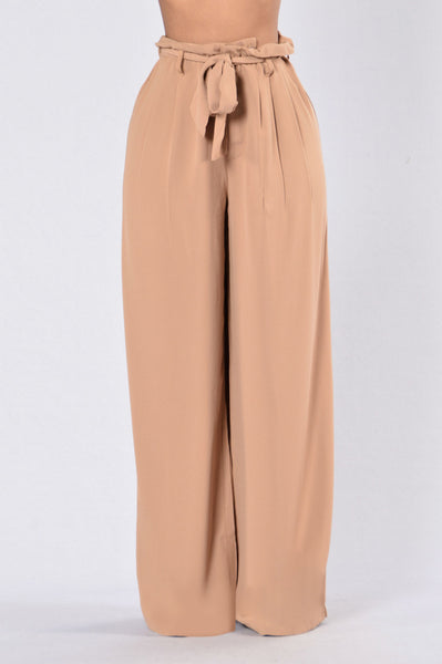 Long Way To Fall Pants - Camel