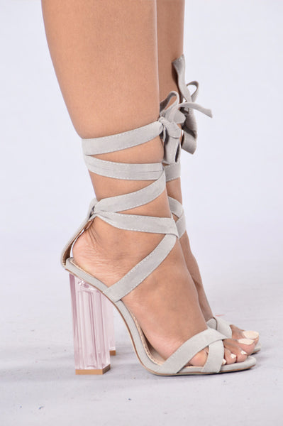 So Sleek Heel - Grey