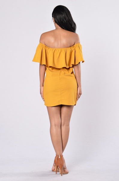 Show Me Dress - Marigold