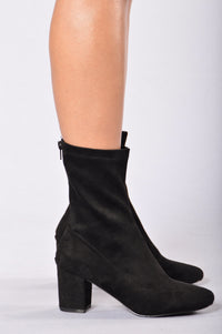 New Girl Heel - Black Angle 4