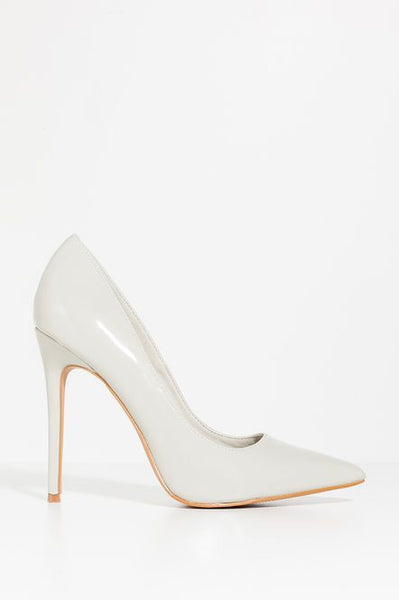 Yes Ma'am Heel - White