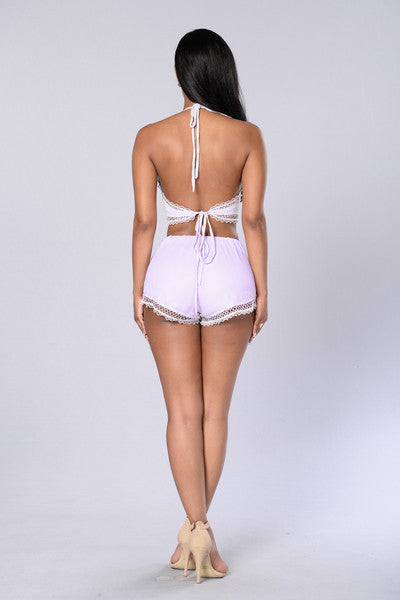 Moment Of Truth Shorts - Lilac