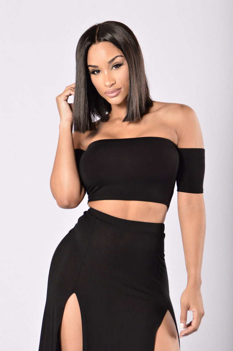 Queen of Everything Top - Black