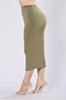 Rock My Body Skirt - Olive