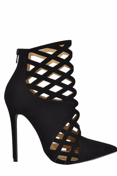 Saturday Night Fever Heel - Black