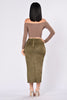 Scandalous Skirt - Olive