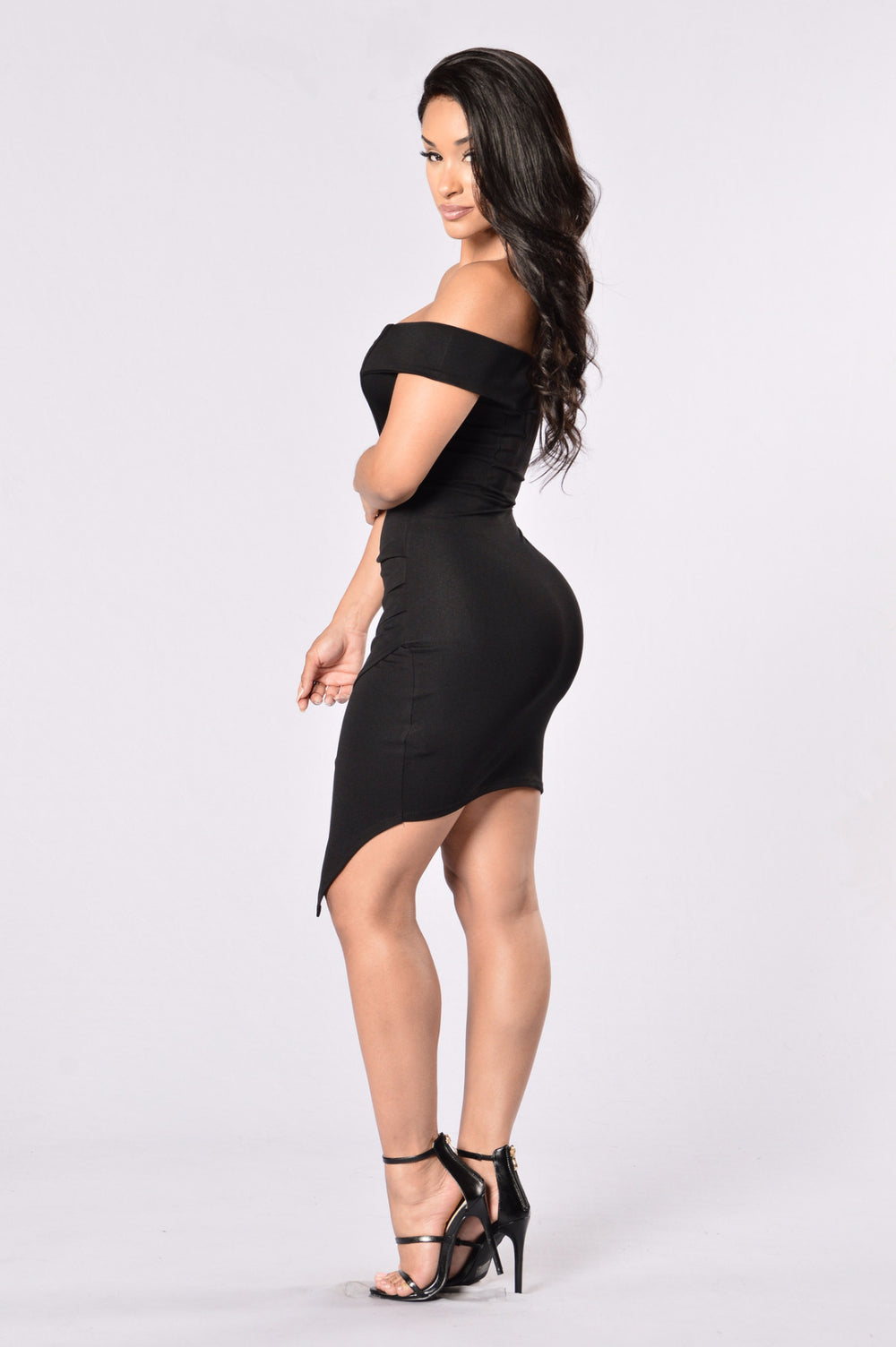 Secret Moments Dress - Black