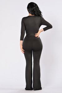 Selena's Jumpsuit - Black