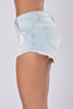 Shorty Shorts - Light Blue