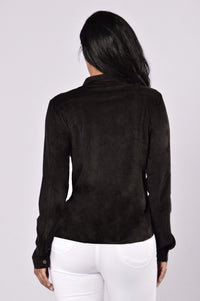 Simi Valley Blouse - Black Angle 2