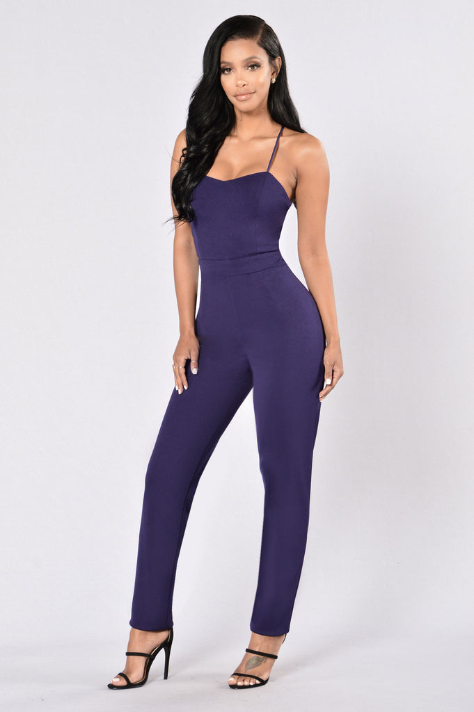 Some Nights Jumpsuit - Navy