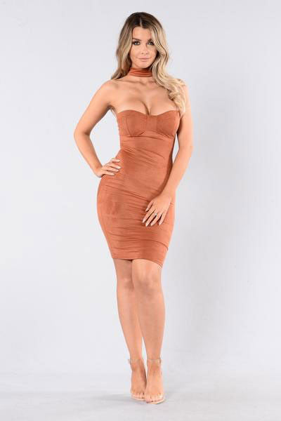 Live And Let Live Dress - Spice